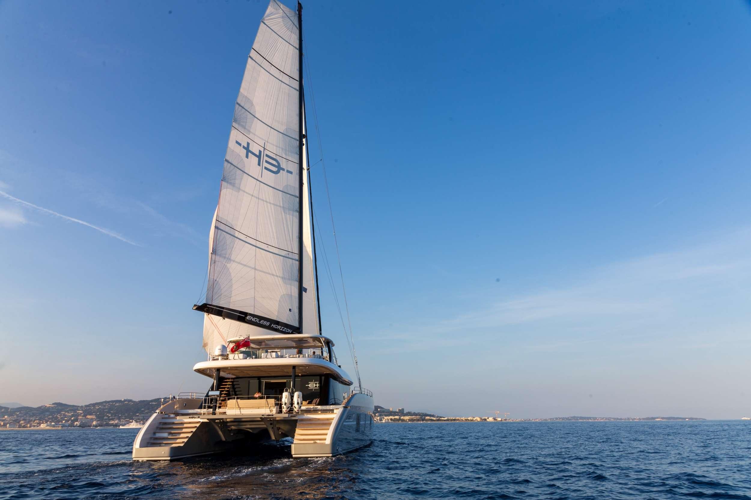 crewed catamaran endless horizon