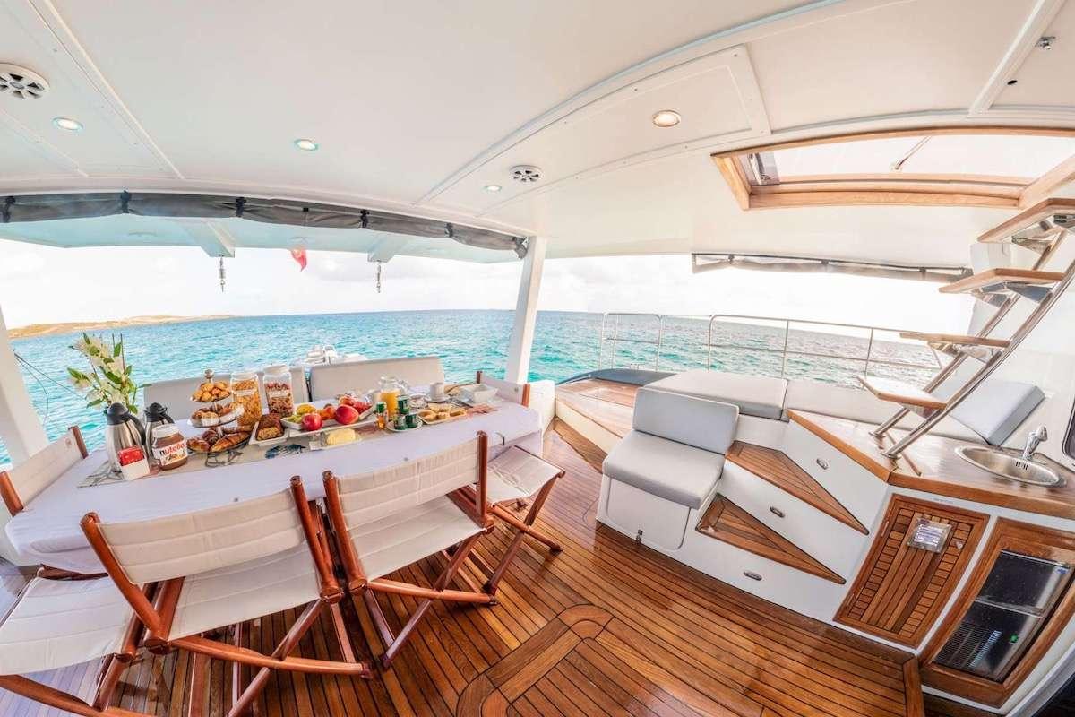 Yacht charter Dolcevitacat