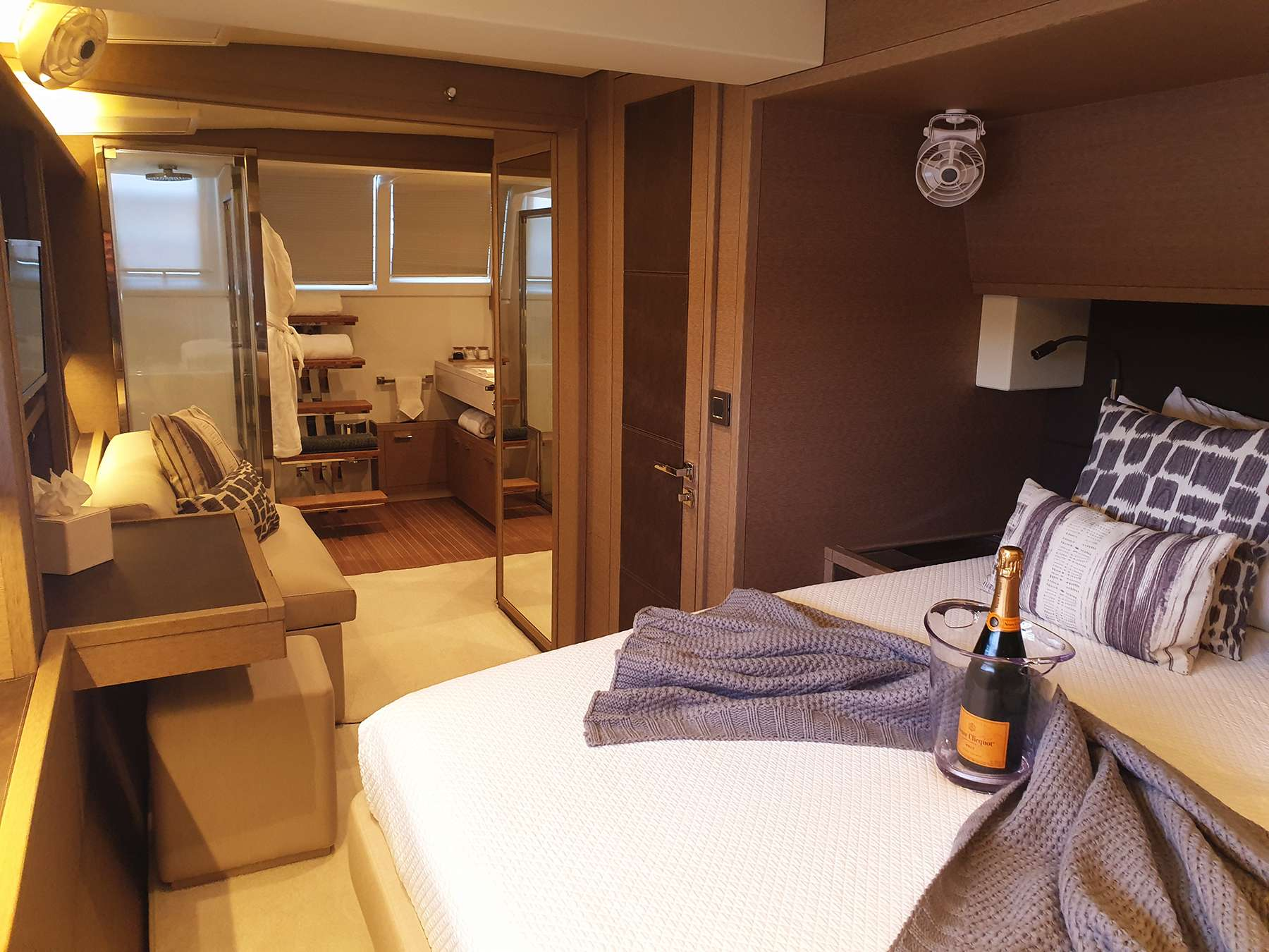 Master Aft Guest Cabin