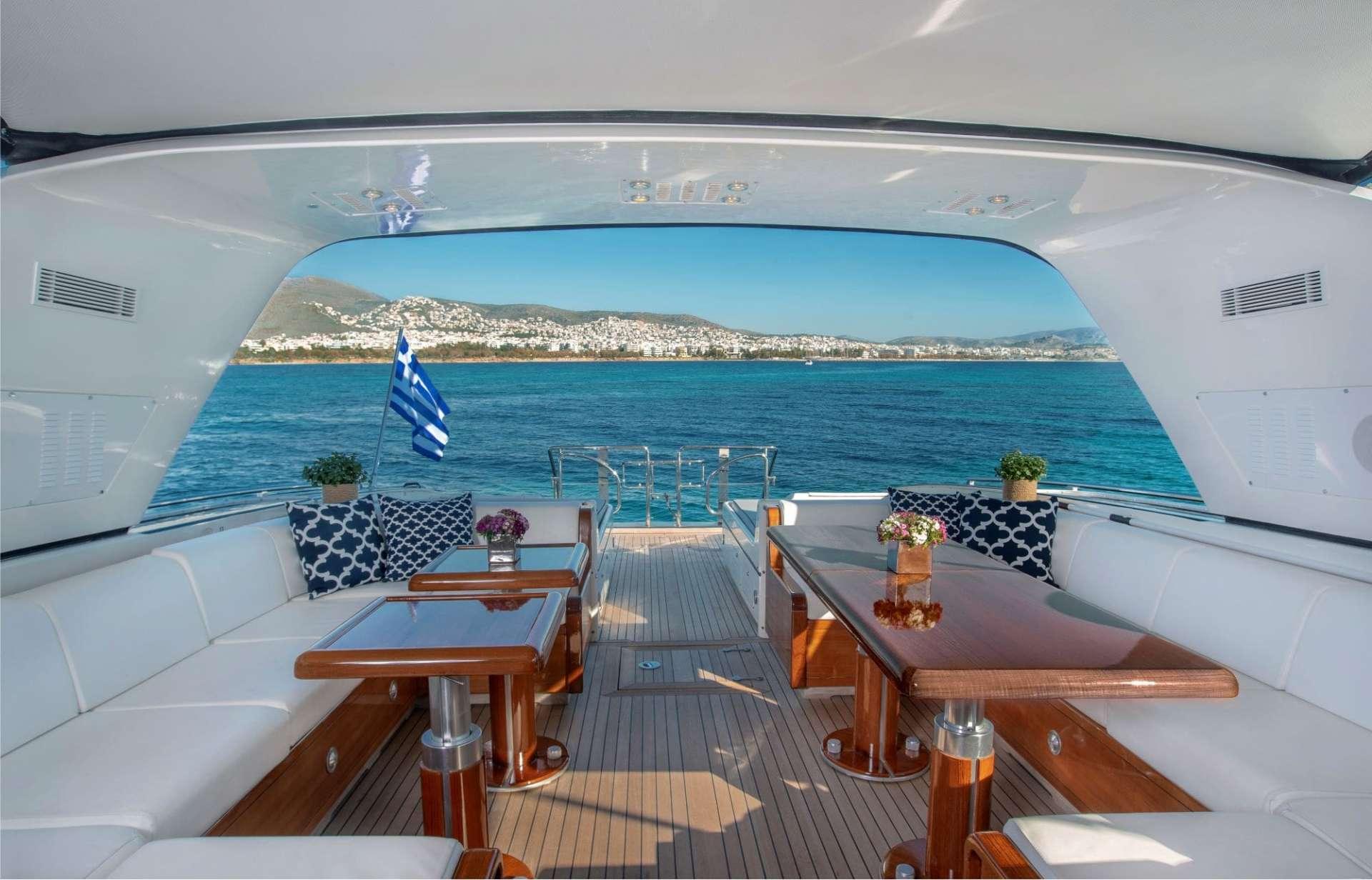 motor yacht TURN ON