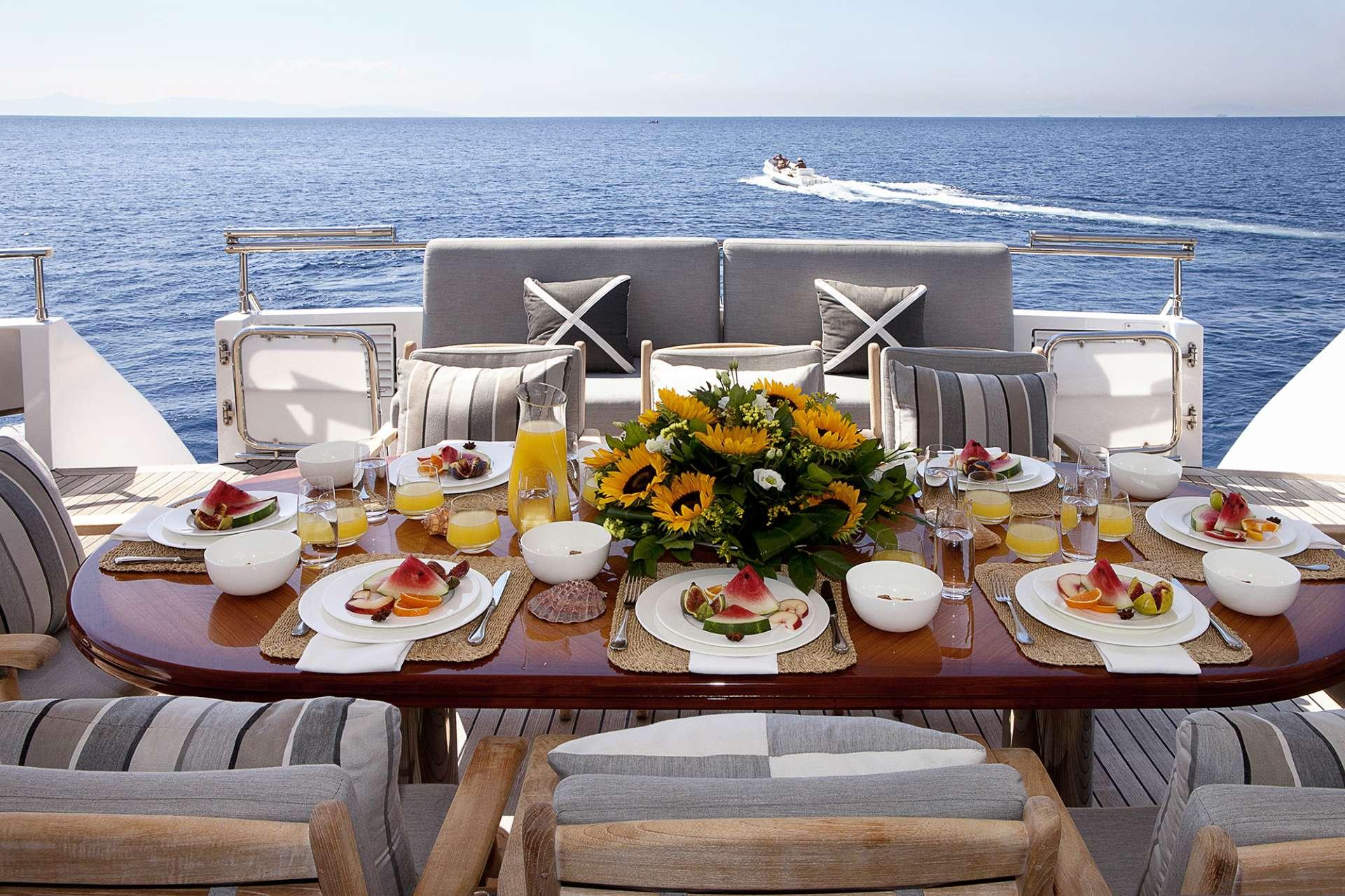 motor yacht MILOS AT SEA