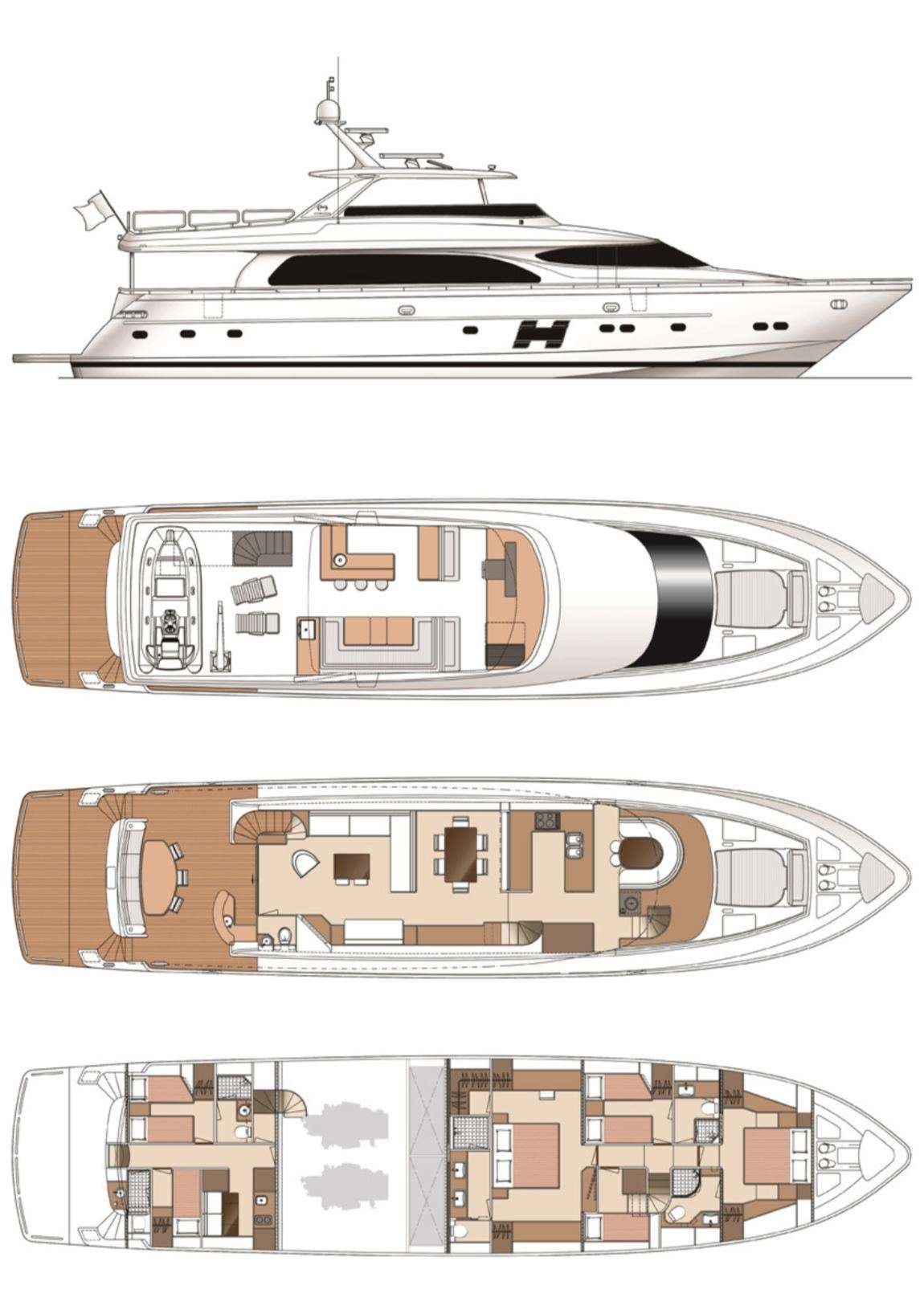 motor yacht Aqua Life