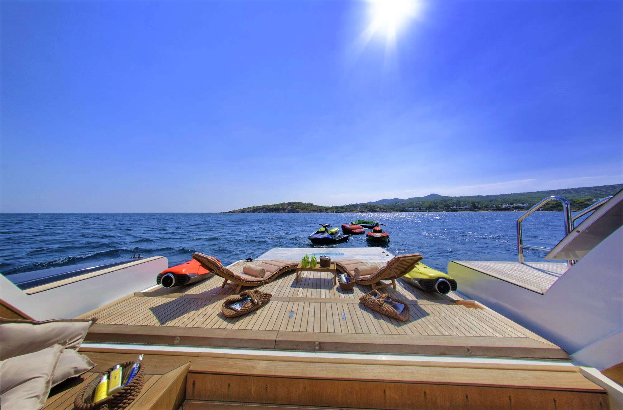 Beach Club (32 sq.m) with Sauna, Shower, Gym Equipment, Swimming Platform & Floating Island