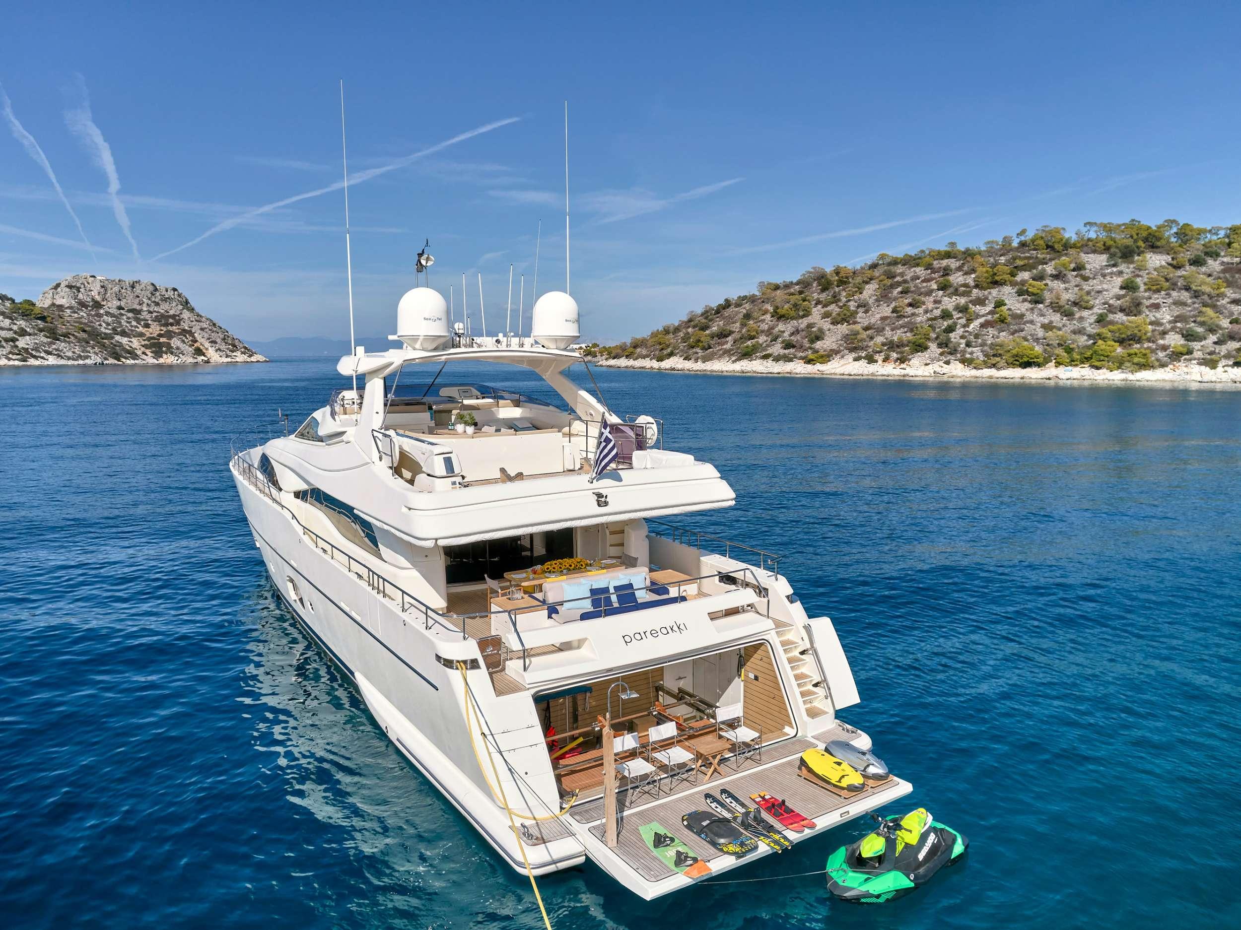 motor yacht PAREAKKI