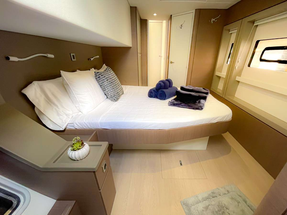 Spacious starboard aft stateroom #1