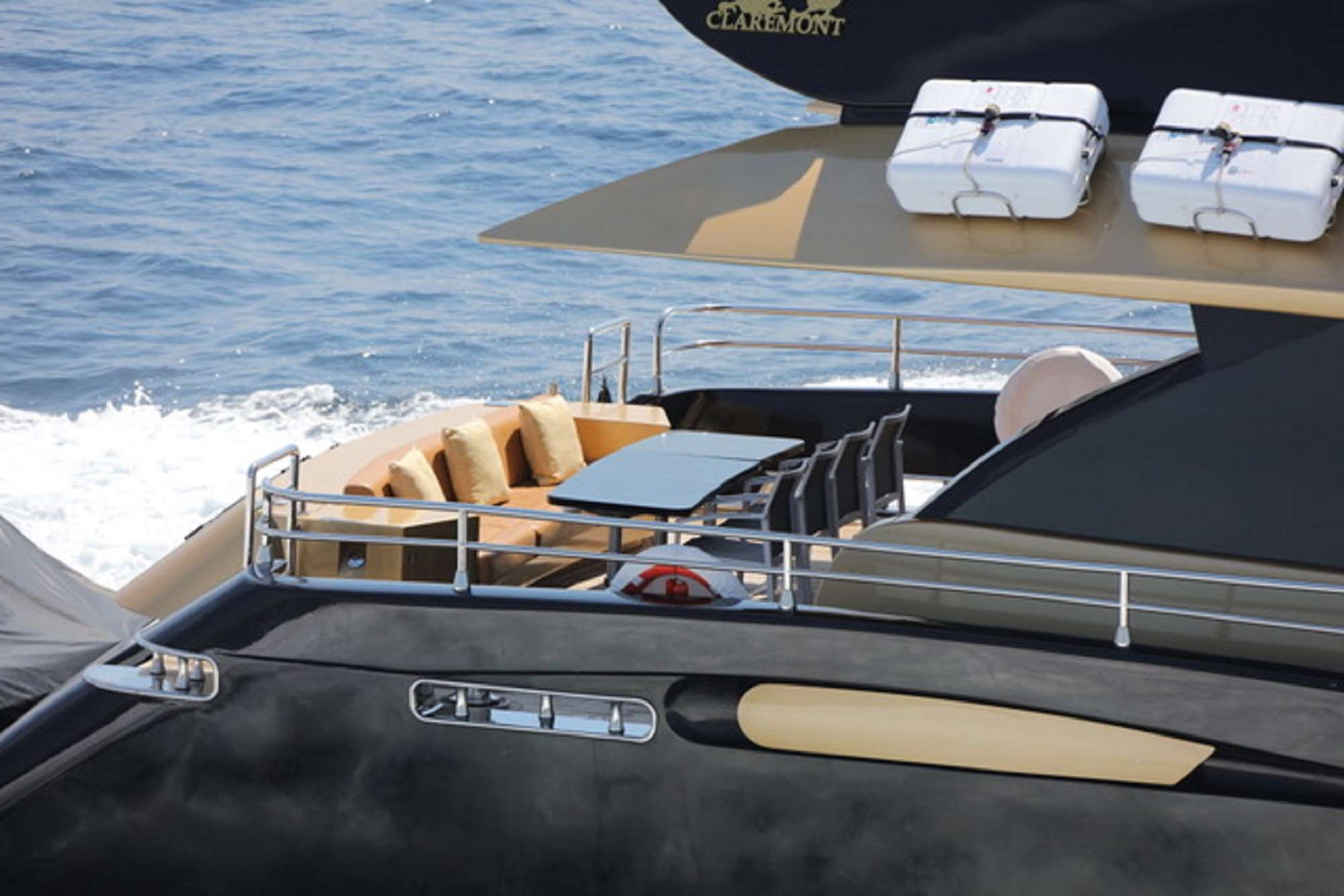 motor yacht CLAREMONT