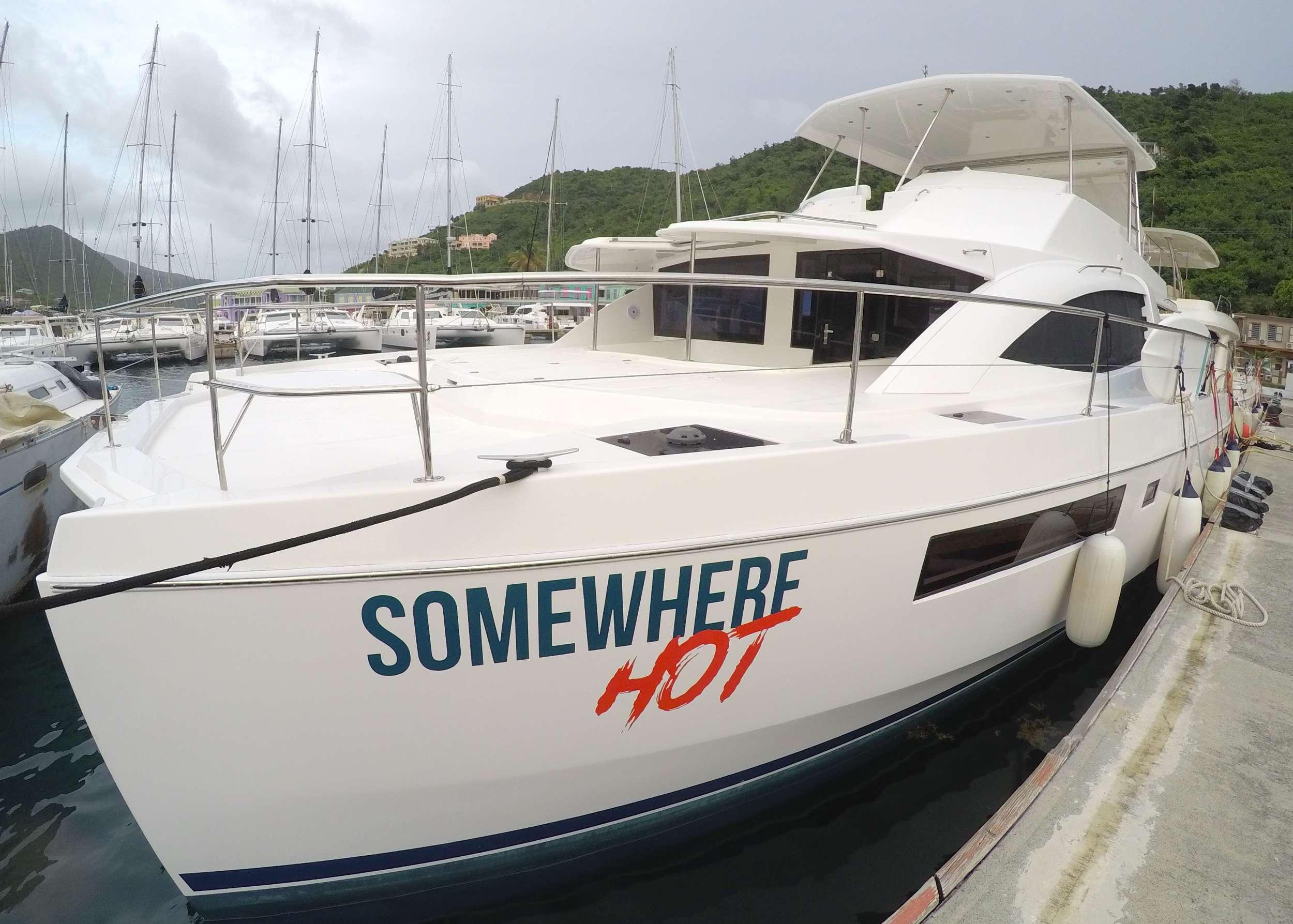 SOMEWHERE HOT yacht image # 12
