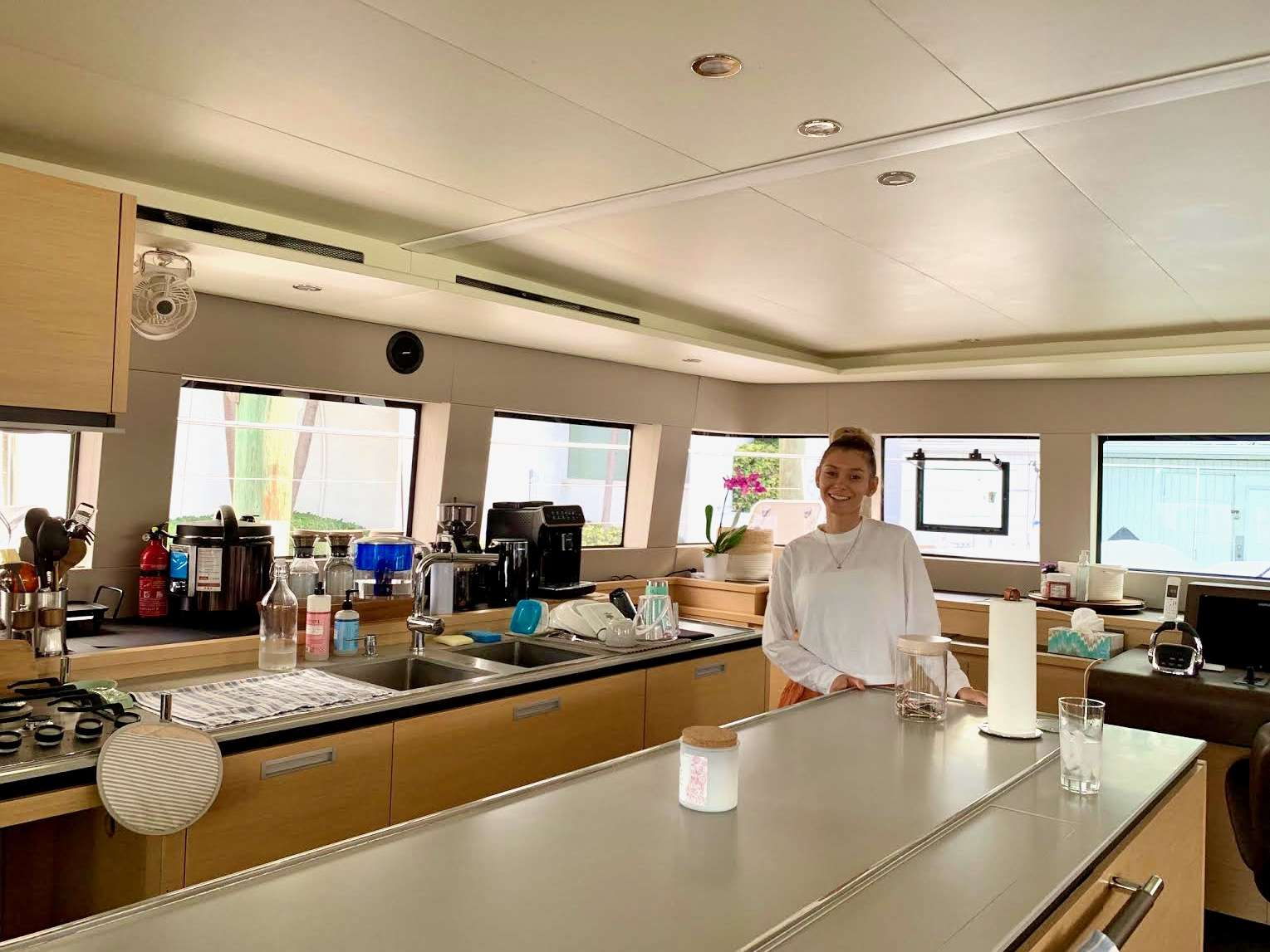 Ambient galley bar