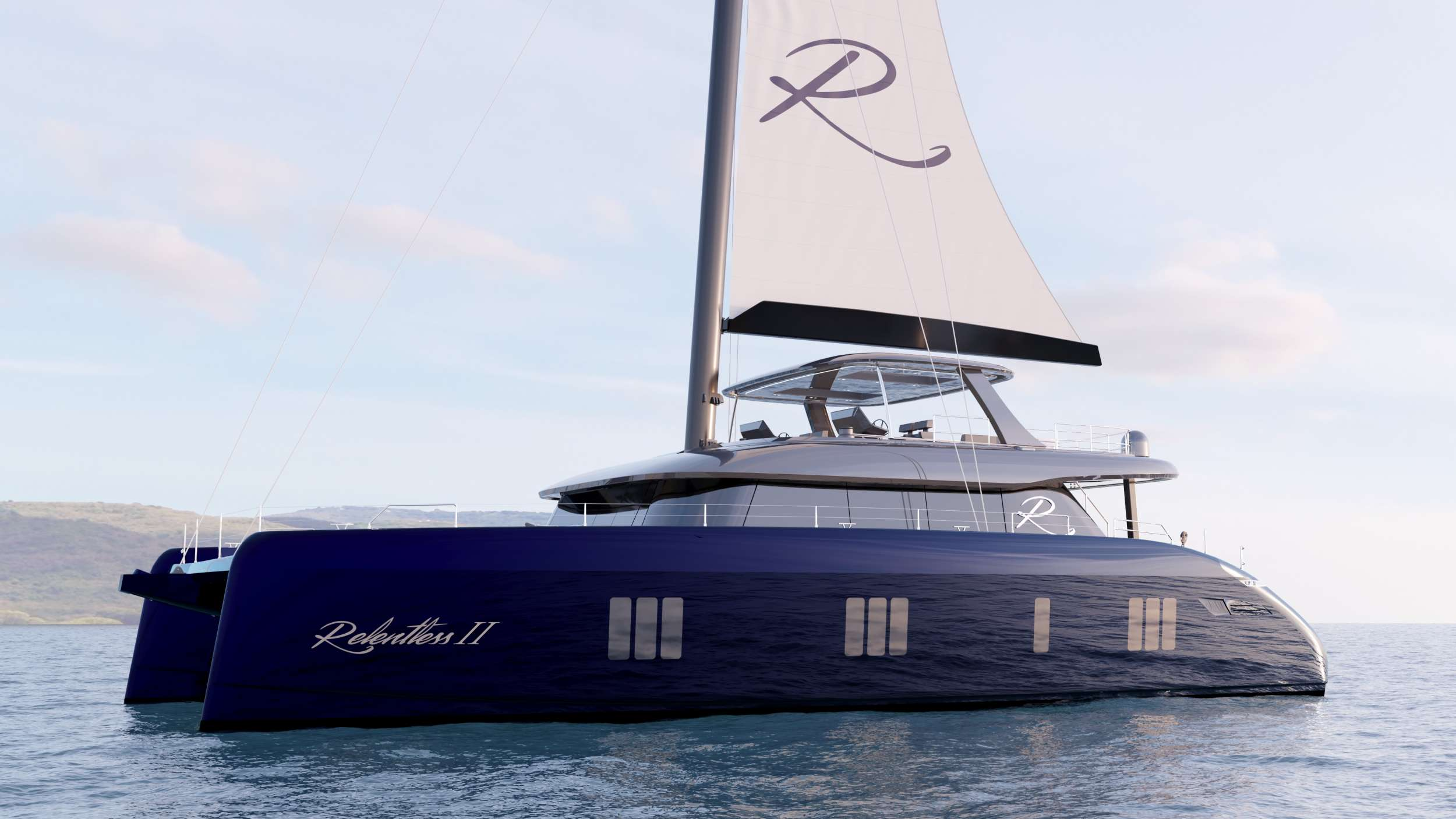 **YACHT IS STILL IN PRODUCTION** ***ALL IMAGES OF THE YACHT ARE RENDERS PROVIDED BY SUNREEF***