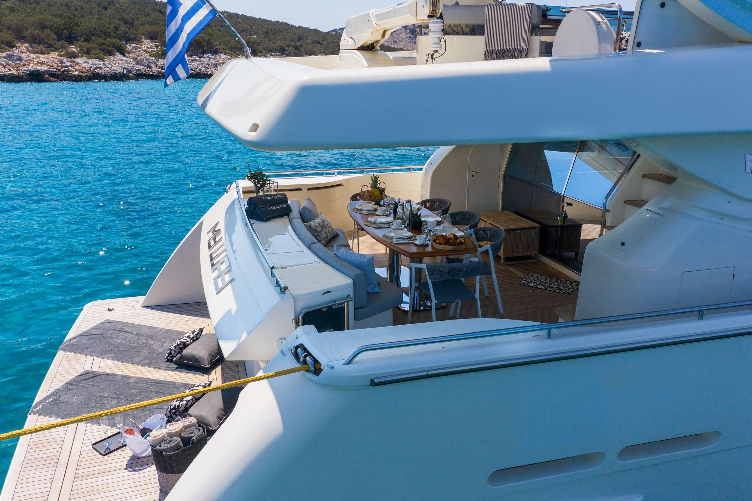 motor yacht MY WAY